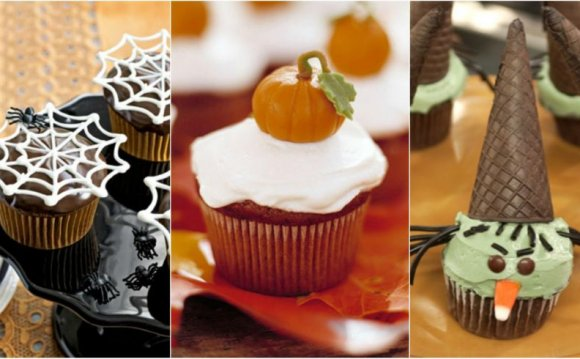 11 Easy Halloween Cupcakes