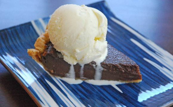 Chocolate Buttermilk Pie is a