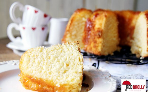 This lemon pound cake includes