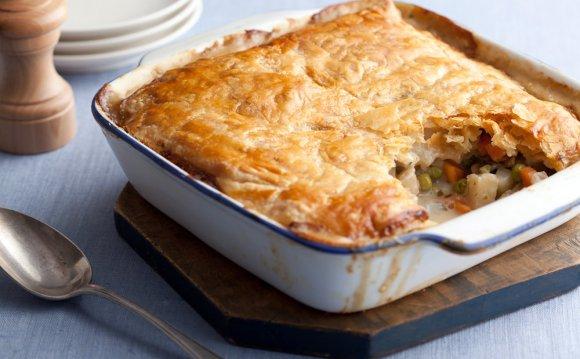 Vegetarian Pot Pie Recipe
