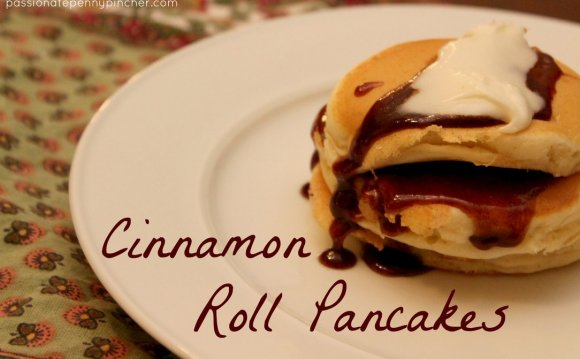 Recipe for Cinnamon Roll Pancakes