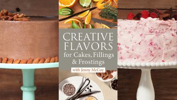 creative flavors for cakes, fillings & frostings craftsy class