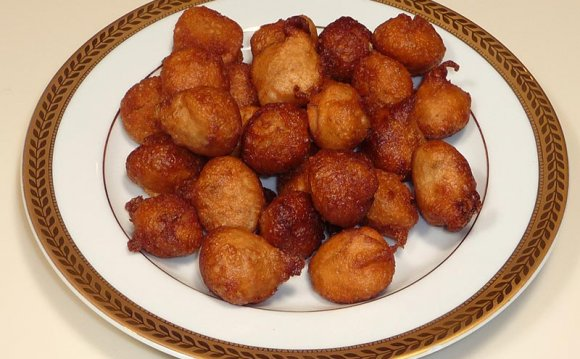 Mini Donuts recipe fried