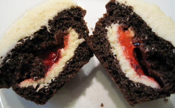 Recipe For Black Forest Cupcakes