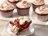 Red Velvet Cupcakes with Cheesecake filling recipe
