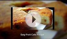 Easy Fruit Cake Recipe Romance