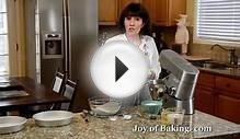 Vanilla Cake Recipe Demonstration - Joyofbaking.com