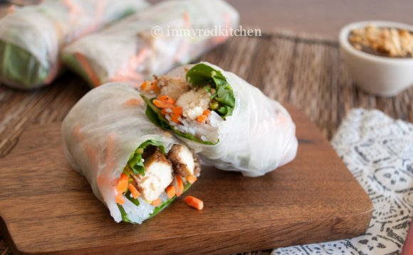 Steamed Spring Rolls recipe